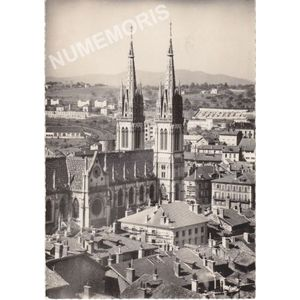 Voiron (Isère) 156 la cathédrale St-Bruno, l'abside