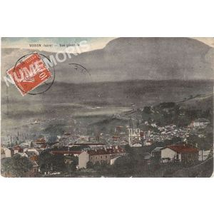 Voiron (Isère) vue générale