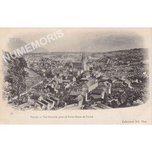 057 Voiron vue générale prise de Notre Dame de Vouïse