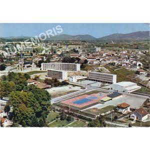 Rives-sur-Fures (38. Isère) cl 117-2 vue aérienne