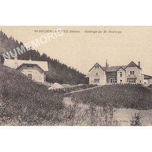 GD 522 St-Julien-de-Ratz (Isère) cottage de M. Duringe