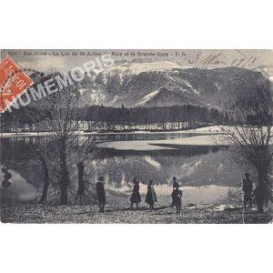 1344 Dauphiné le lac de St-Julien-de-Ratz et la Grande-Sure ER