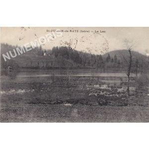 St-Julien-de-Ratz (Isère) le lac