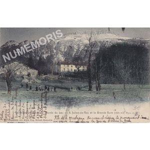 environs de Voiron bords du lac de St-Julien-de-Ratz et la Grande-Sure (1924 m.) phot. Ch. M.
