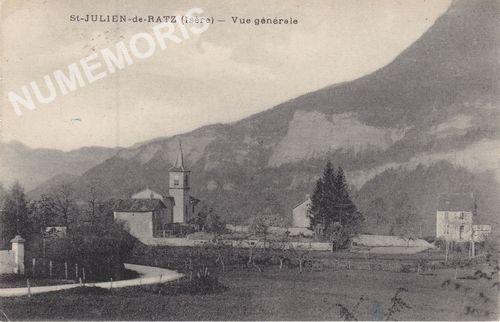 village de Saint Julien de Ratz
