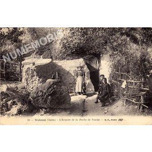 034 Voiron (Isère) l'Ermite de la Roche de Vouise