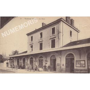 051 Voiron (Isère) la gare