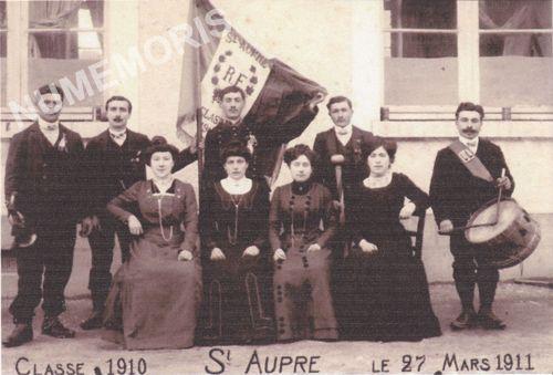 Saint Aupre conscrits