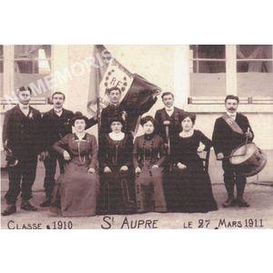 conscrits de St Aupre de 1910