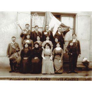 conscrits de St Aupre de 1911