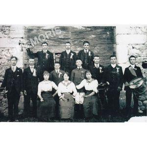 conscrits de St Aupre de 1917