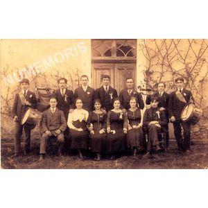 conscrits de St Aupre de 1920
