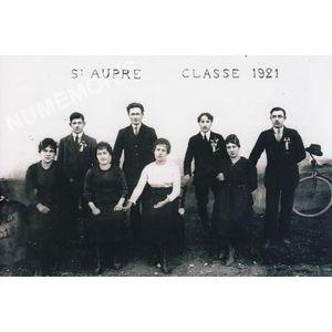 conscrits de St Aupre de 1921
