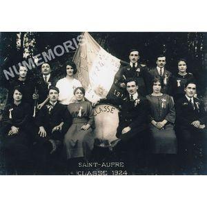 conscrits de St Aupre de 1924