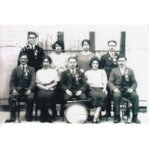 conscrits de St Aupre de 1925