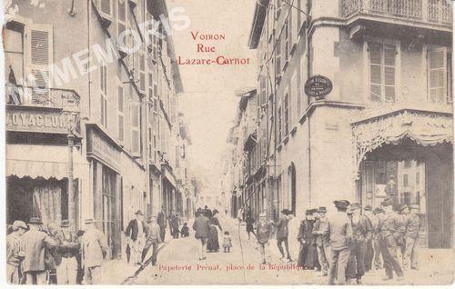 Voiron cartes postales