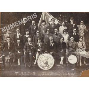 conscrits de Tullins de 1930