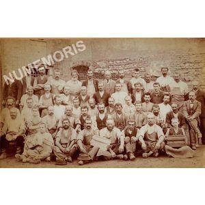 Tullins ouvriers de la tuilerie Debernardy