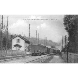 St-Jean-de-Moirans (Isère) la gare