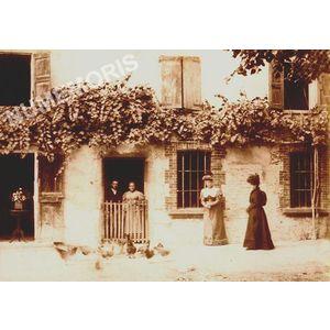 Voiron visite à la ferme début 1900