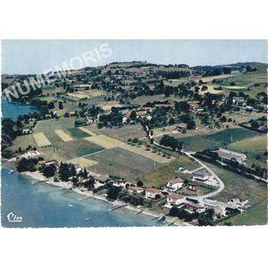 Charavines-les-Bains Bilieu (Isère) Cl. 20-100 vue aérienne les villas au bord du lac