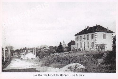 La Bâtie Divisin (commune déléguée des Abrets-en-Dauphiné depuis 2016)