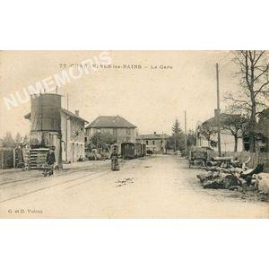 GD 077 Charavines-les-Bains la gare