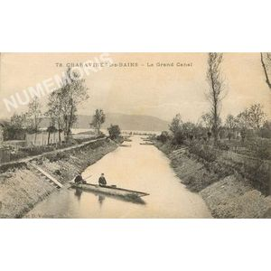 GD 078 Charavines-les-Bains le grand canal