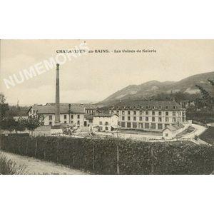 JG 076 Charavines-les-Bains les usines de soierie