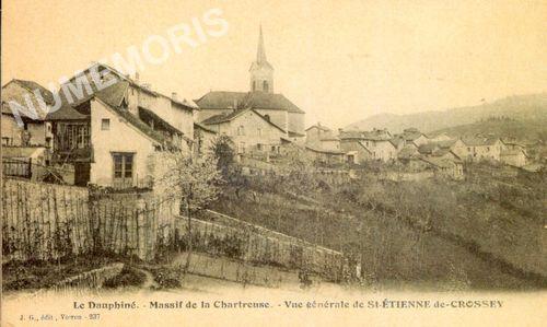 St Etienne de Crossey le village