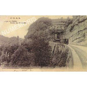 Cie VSB gorges de Chailles rocher des Hirondelles