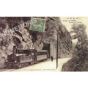 Cie VSB gorges de Chailles sortie du tunnel