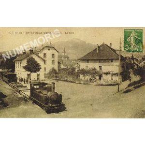 C. C. 65 bis Entre-Deux-Guiers (Isère) la Gare