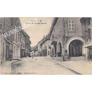 Cie VSB une rue des Echelles (Savoie)