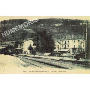 4985 Saint-Béron la gare les hôtels