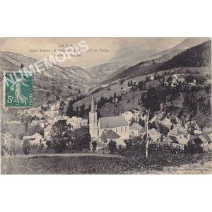 Cie VSB Saint-Pierre-d'Entremont et le col du frêne (Isère et Savoie)