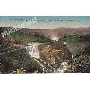 022 De Voiron à la grande Chartreuse la cascade des gorges de Chailles LL