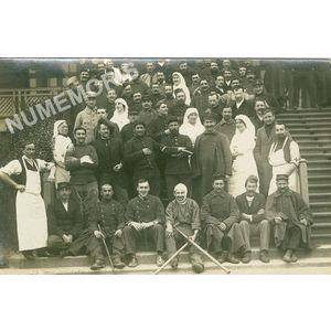 hôpital militaire pendant la première guerre