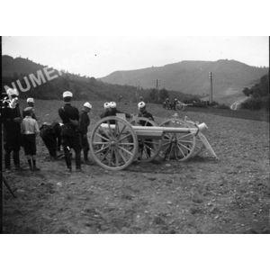 exercices de militaires vers 1910