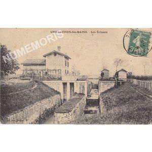 JG 075 Charavines-les-Bains les écluses