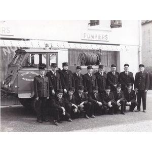 Montferrat : pompiers vers 1960-70