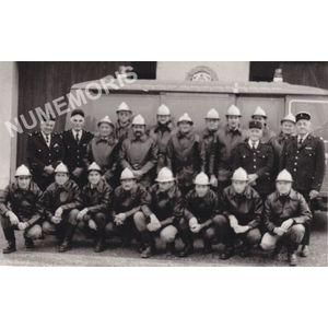 Montferrat : pompiers vers 1980