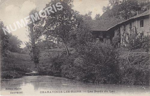 Dauphiné Charavines-les-Bains les bords du lac