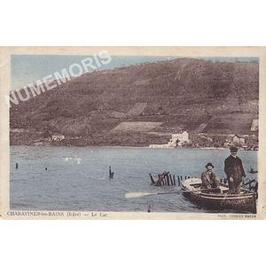 Charavines-les-Bains (Isère) le lac
