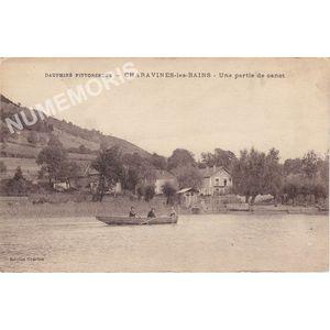 Dauphiné pittoresque Charavines-les bains une partie de canot