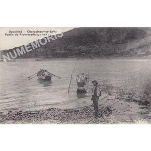 Dauphiné Charavines-les bains partie de promenade sur le lac