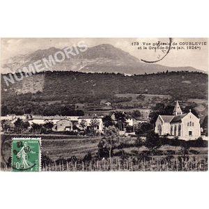 173 vue générale de Coublevie et la grande-Sure (alt. 1924 m)