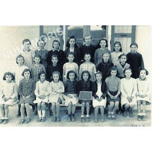 Coublevie : école en 1942