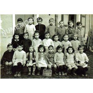 Coublevie : école en 1950-51