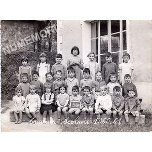 Coublevie : école en 1960-61